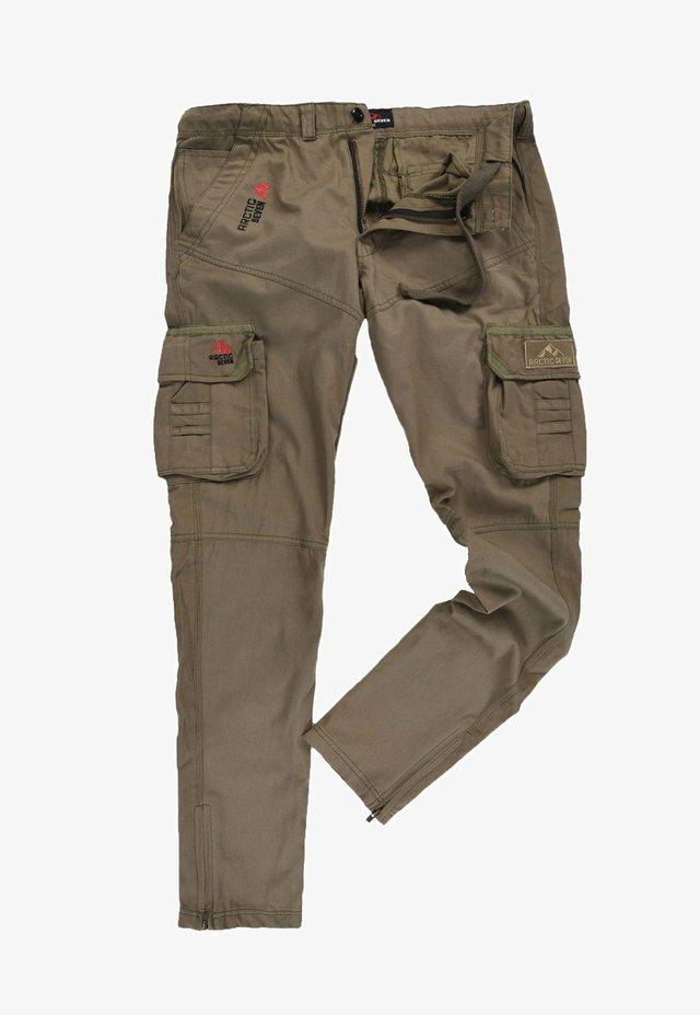 Cargo trousers - olivgrün