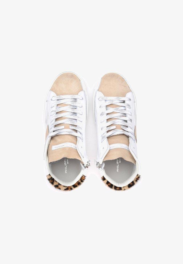 Sneakers alte - bianco
