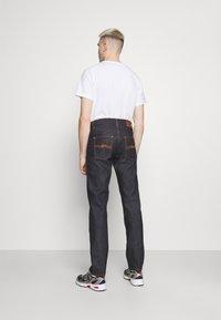 Nudie Jeans - GRITTY JACKSON - Vaqueros rectos - dark-blue denim - 2