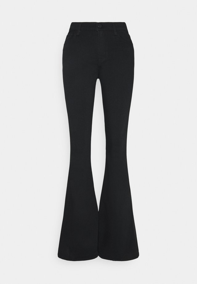 VALENTINA HIGH RISE FLARE - Bootcut jeans - eco seriously black