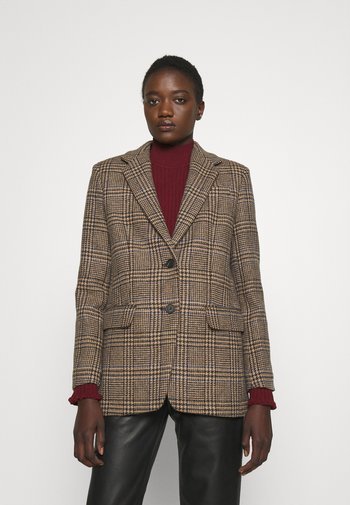 ONDINA - Short coat - dark brown