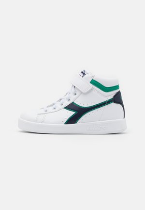 GAME HIGH UNISEX - Sports shoes - white/greenlake