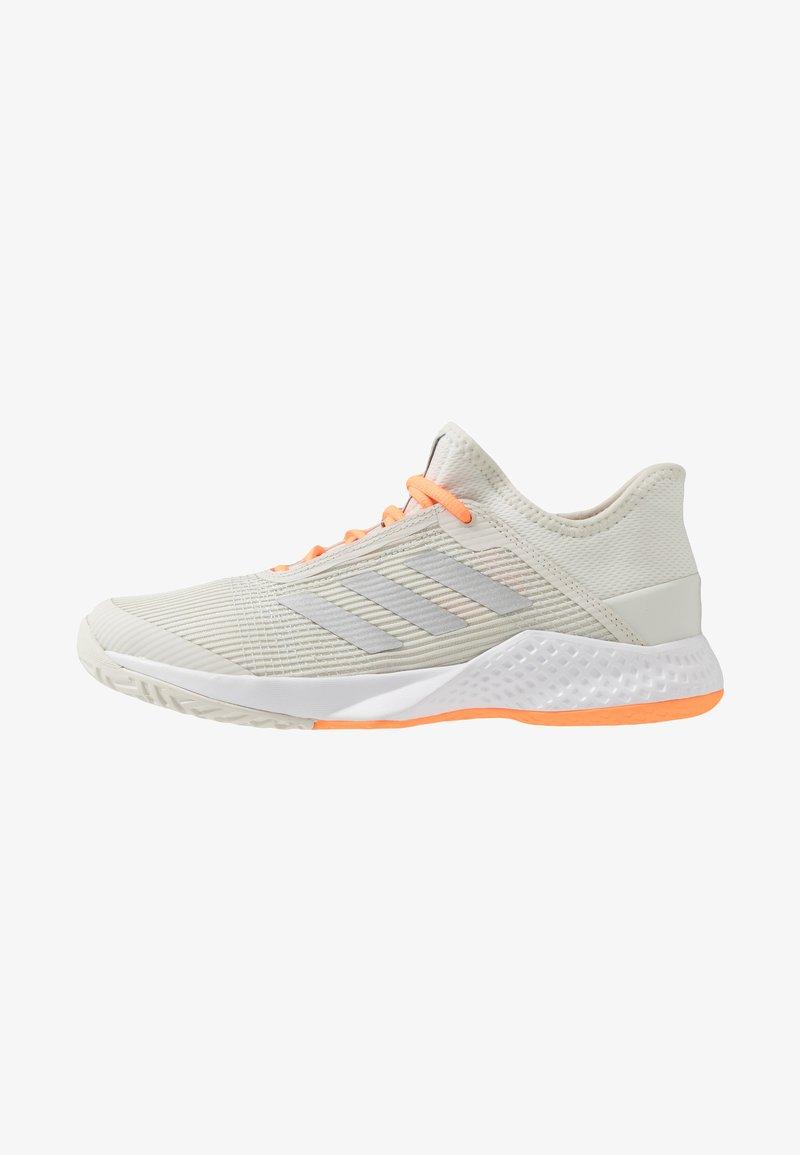 adidas Performance - ADIZERO CLUB - Multicourt tennis shoes - orbit grey/silver metallic/signal orange