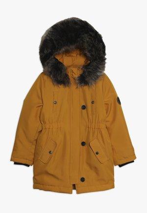 Winter coat - golden yellow