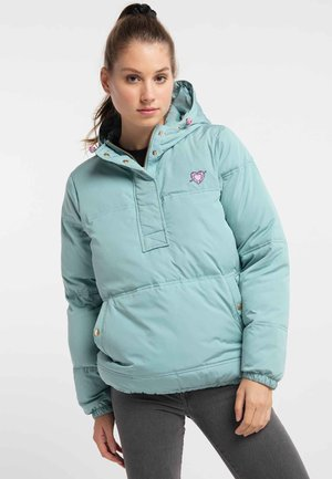 Winter jacket - dunkelmint