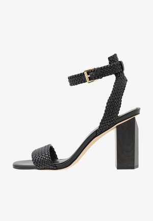 PETRA ANKLE STRAP - High heeled sandals - black