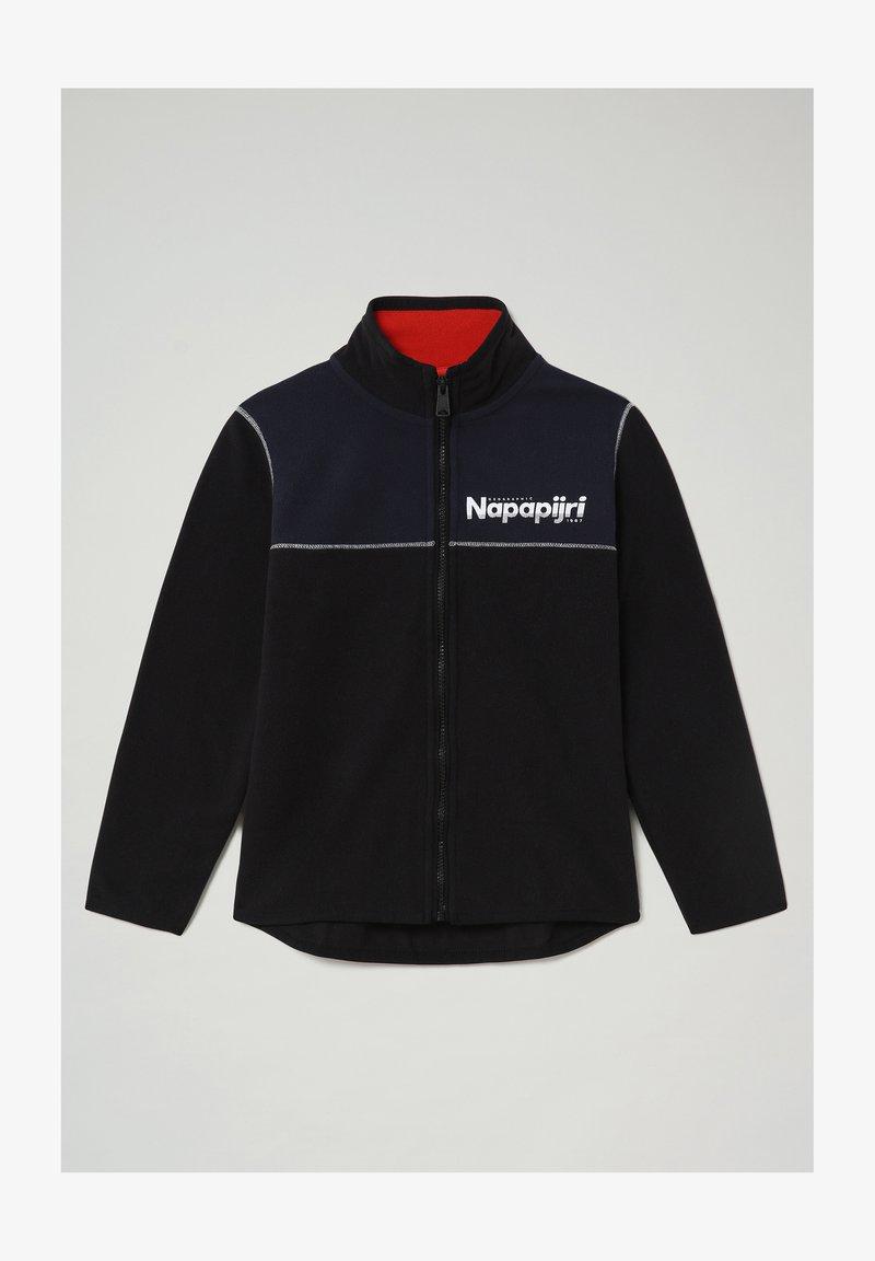 Napapijri - TAU - Zip-up hoodie - blu marine