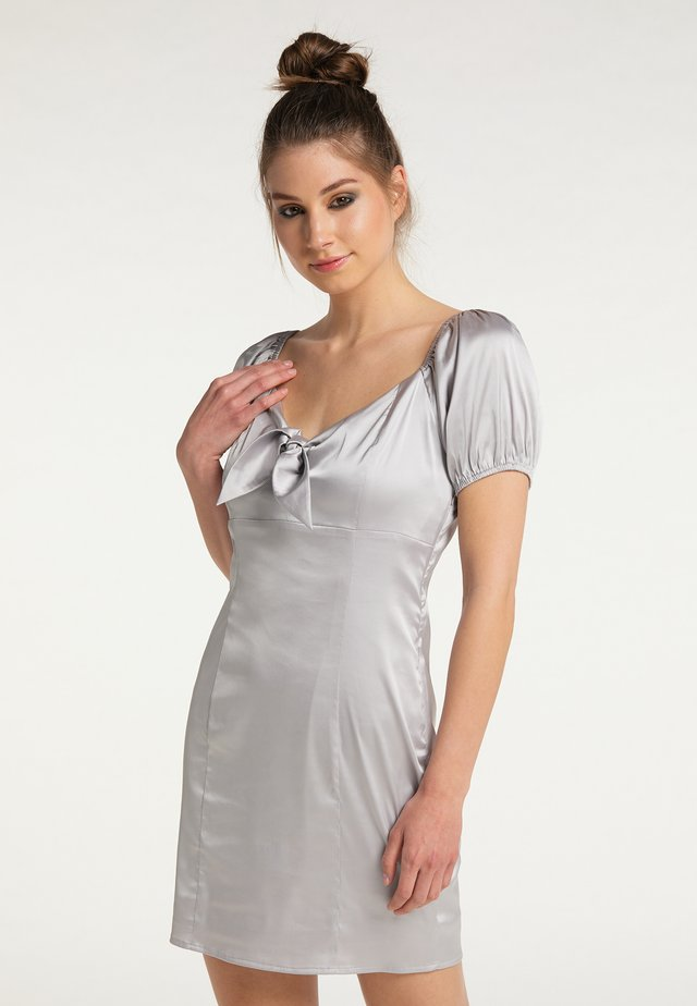 Cocktail dress / Party dress - silber