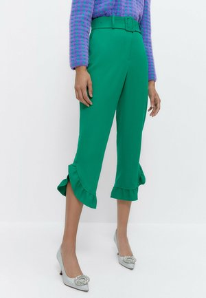 MIT VOLANT  - Trousers - green