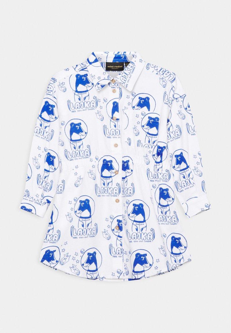 Mini Rodini - LAJKA DRESS - Skjortekjole - offwhite