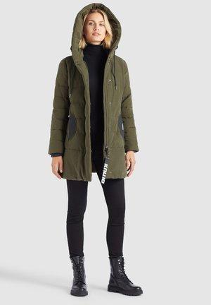 SHERMA - Winter coat - oliv
