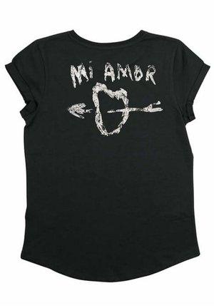 MIAMOR - Print T-shirt - black
