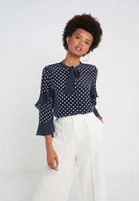 Marella - JAJCE - Button-down blouse - navy - 0