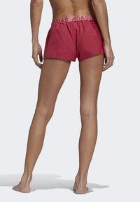adidas Performance - BEACH SHORTS - Swimming shorts - pink - 1