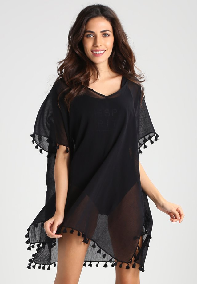BEACH EDIT-AMNESIA KAFTAN - Accessorio da spiaggia - black