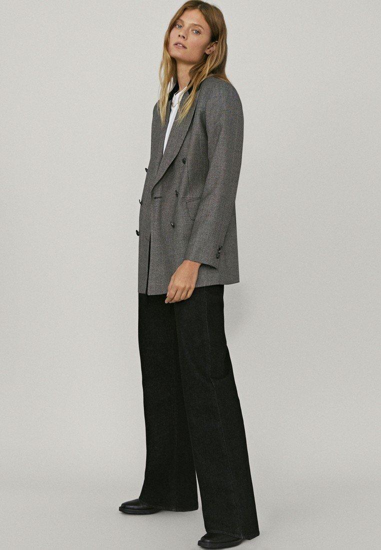 Massimo Dutti - Short coat - light grey