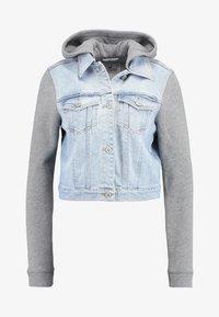 Hollister Co. - TWOFER JACKET - Denim jacket - blue denim - 4