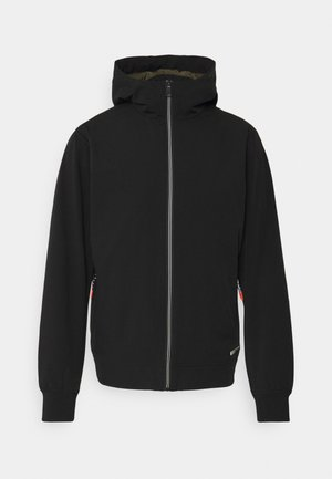HOODED JACKET - Summer jacket - black