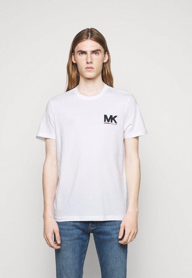 SPORT LOGO TEE - T-shirt imprimé - white