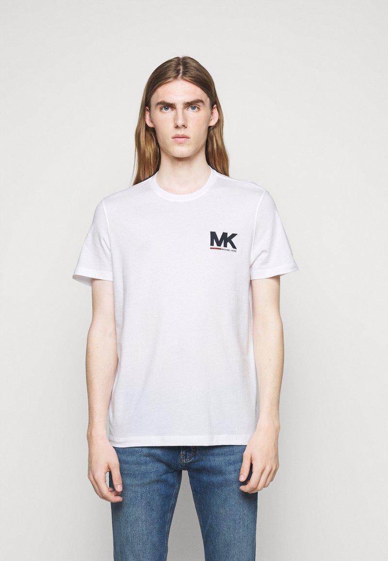 Michael Kors - SPORT LOGO TEE - Print T-shirt - white