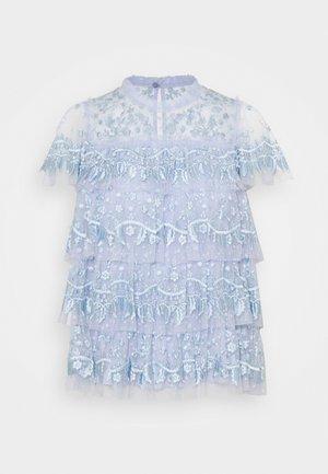 EBONY RUFFLE  - Blouse - wedgewood blue
