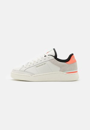AD COURT - Zapatillas - chalk white/orange fluor/aqua dust