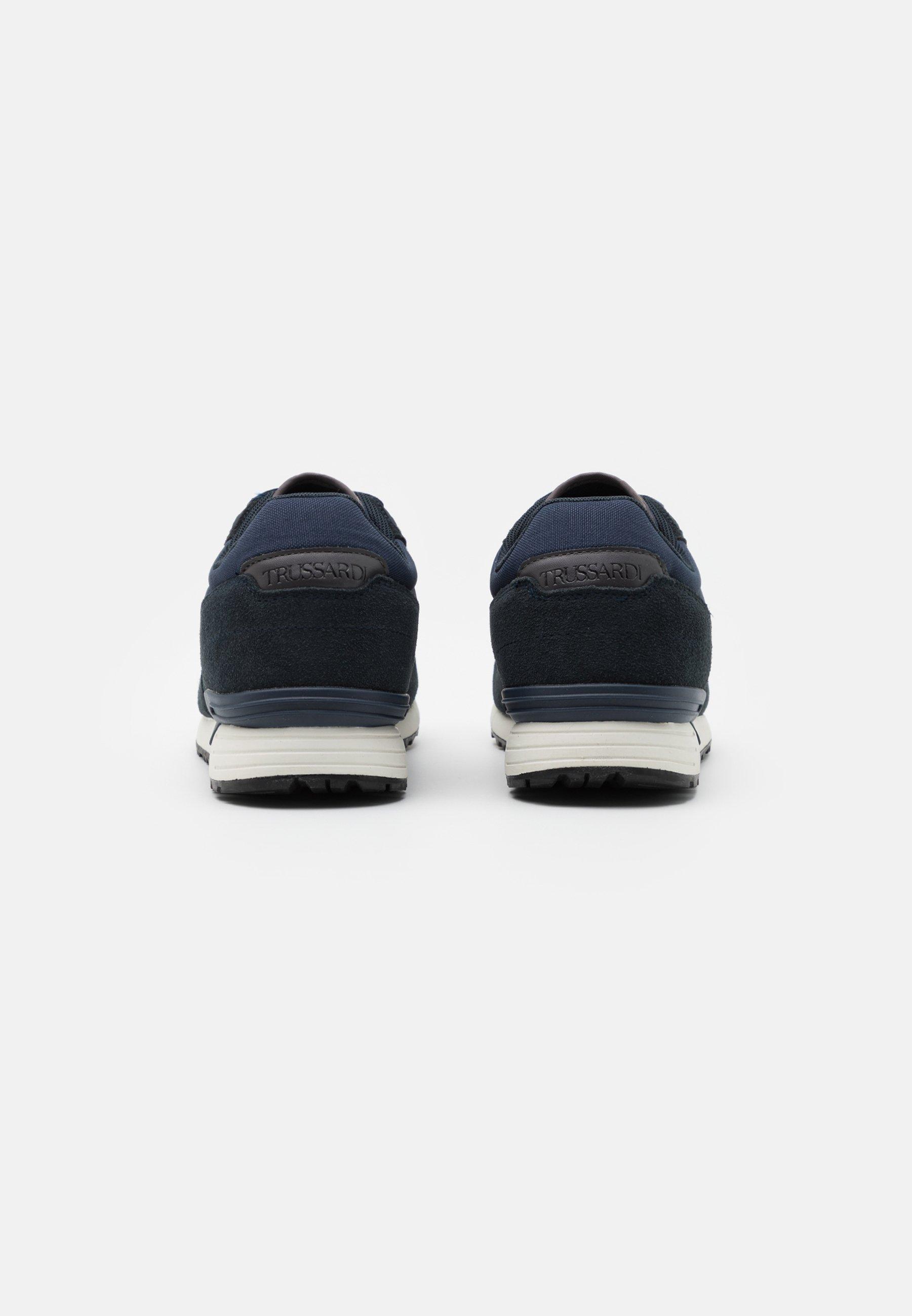 Trussardi PENTAS - Sneaker low - dark blue/dunkelblau - Herrenschuhe SQlqY