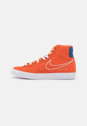 BLAZER MID '77 - Vysoké tenisky - orange/white/deep royal blue/university blue/sail/team orange