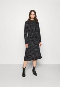 Moss Copenhagen - EANE DRESS - Day dress - black - 0