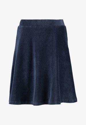 Mini skirt - navy blazer