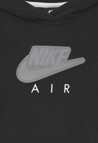 Nike Sportswear - AIR CROP HOODIE  - Felpa con cappuccio - black/white - 2
