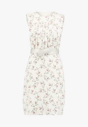 SLEEVELESS DRAPERY DRESS - Denní šaty - beige/multi color