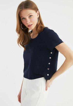 Basic T-shirt - navy blue