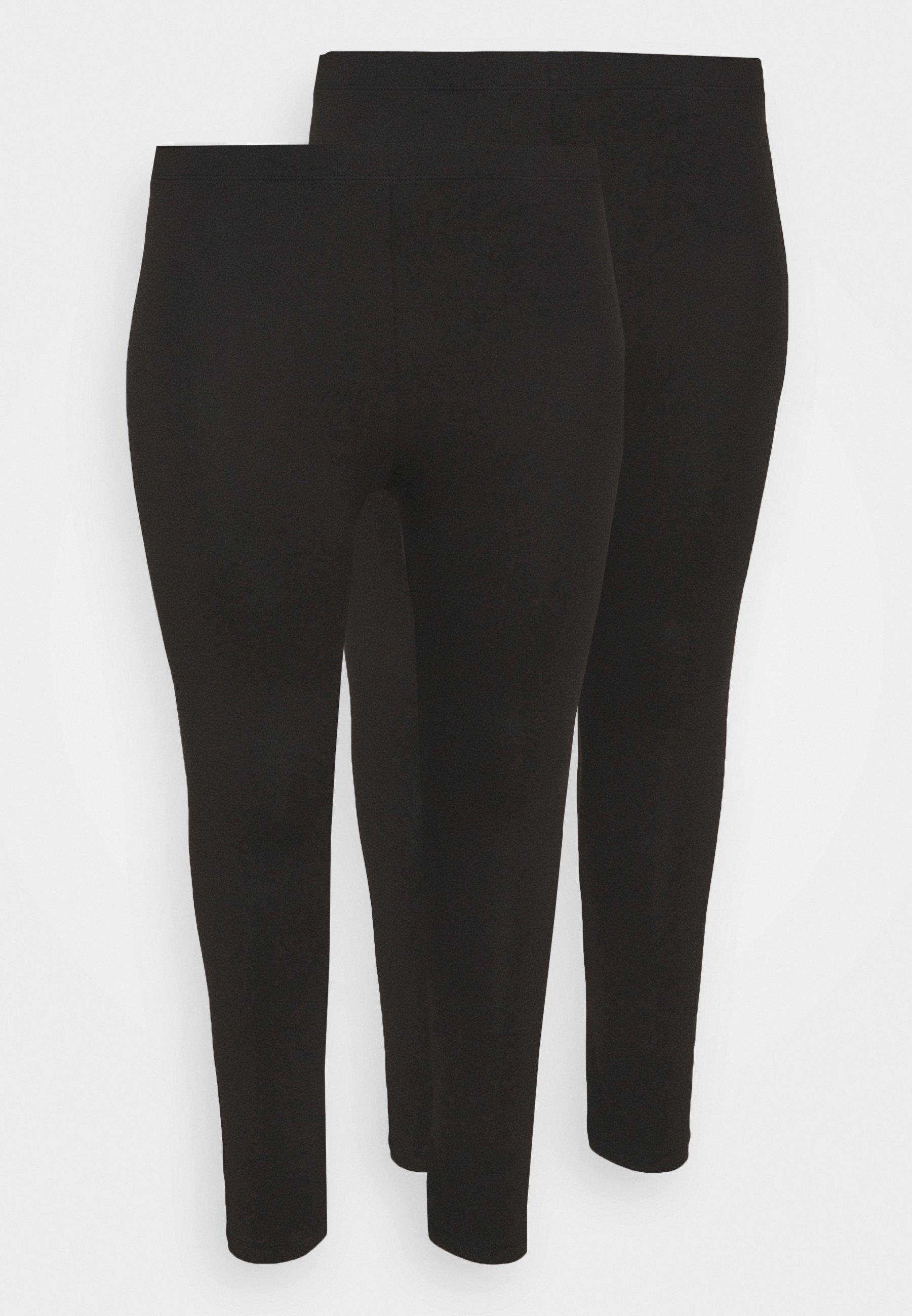Women 2 PACK - 7/8 LENGHT LEGGING - Leggings - Trousers