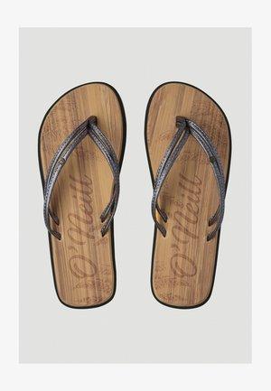 FOOTWEAR DITSY - Sandály s odděleným palcem - chino beige