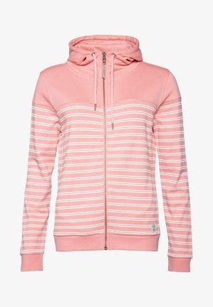 MATTER - Zip-up hoodie - pink/white