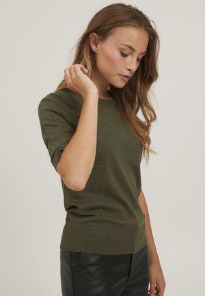PZSARA - Basic T-shirt - grape leaf melange