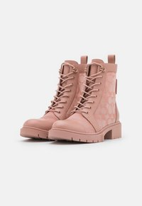 Coach - LANA BOOTIE - Lace-up ankle boots - dusty rose - 2