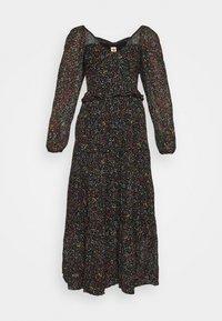 BOROGODO MAXI DRESS - Day dress - black/multi-coloured