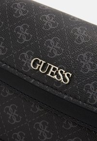 Guess - CAMY CROSSBODY FLAP - Across body bag - coal multi - 4