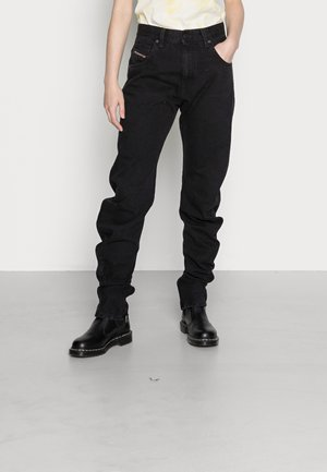D PLATA N SP - Relaxed fit jeans - washed black