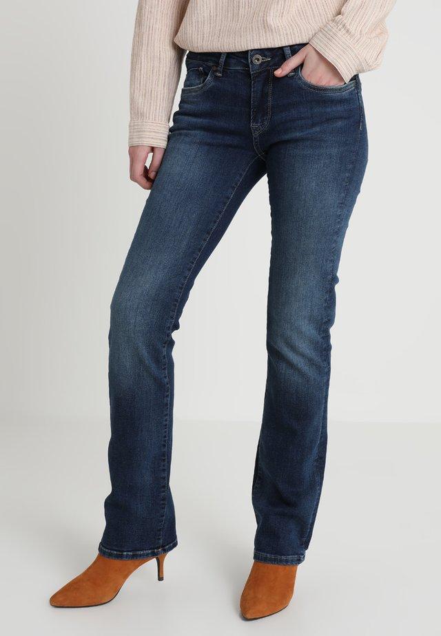 TRU BLU PICCADILLY - Bootcut jeans - cn5 denim