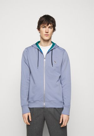 MENS REGULAR FIT ZIP HOODY - Zip-up hoodie - bright blue