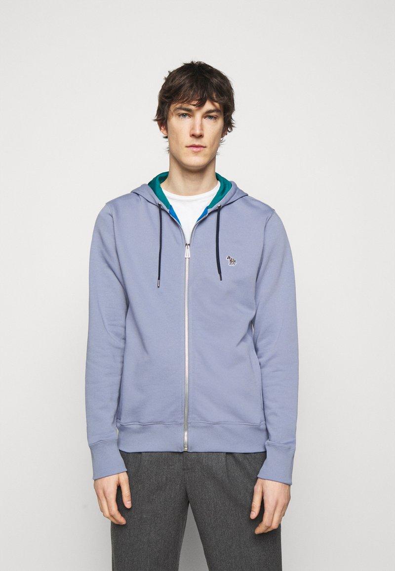 PS Paul Smith - MENS REGULAR FIT ZIP HOODY - Mikina na zip - bright blue