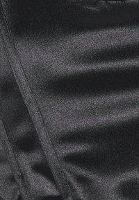Topshop Petite - DISCO CORSET - Blusa - black - 2