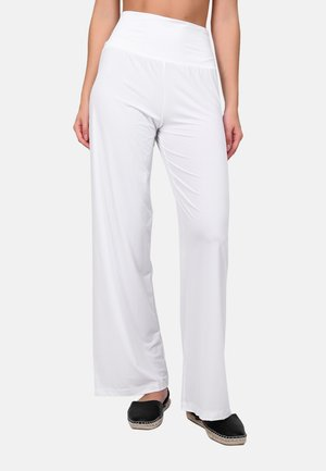 YMALI - Pantalones - white