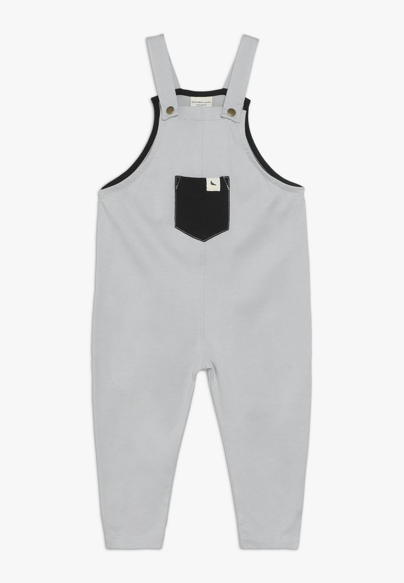 Turtledove - PLAIN EASY FIT BABY - Tuinbroek - grey
