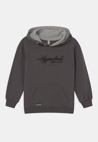 Blue Effect - BOYS HYPERLOOK HOODIE - Sweatshirt - dunkelgrau reactive - 0