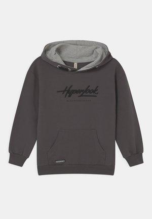 BOYS HYPERLOOK HOODIE - Mikina - dunkelgrau reactive
