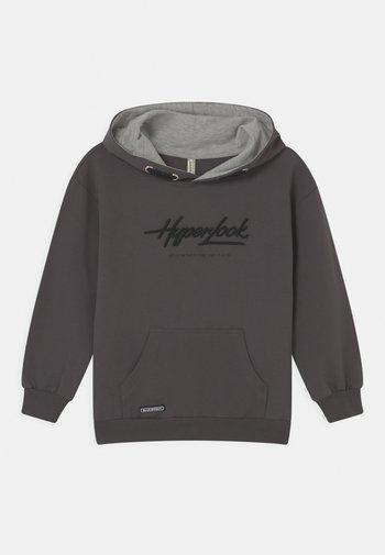 BOYS HYPERLOOK HOODIE - Sweatshirt - dunkelgrau reactive